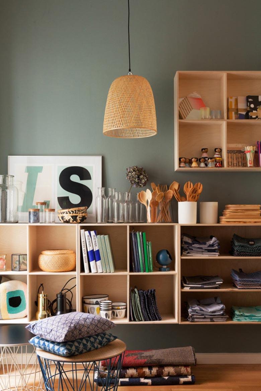 Ideas de estantes para aprovechar espacios malabarista for Ideas aprovechar espacio cocina